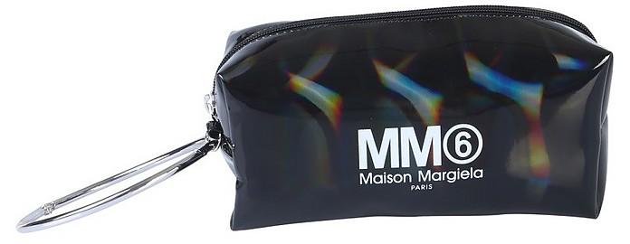 Clutch With Logo - MM6 Maison Martin Margiela