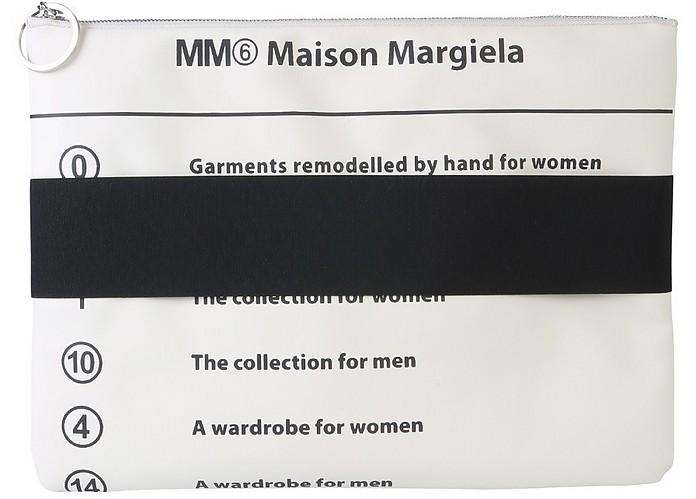 Clutch With Elastic Band - MM6 Maison Martin Margiela