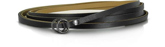 Skinny Wrap Leather Belt - MM6 Maison Martin Margiela