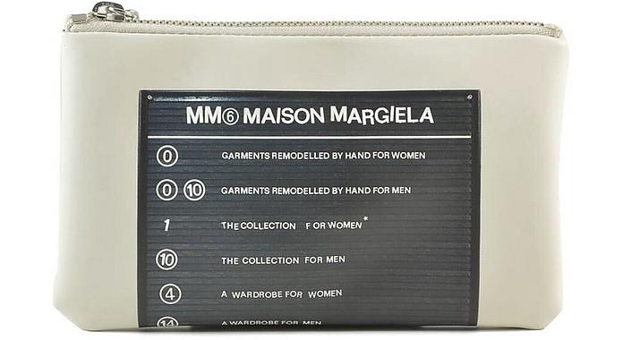 Women's White Wallet - MM6 Maison Martin Margiela / MM6 メゾンマルタンマルジェラ