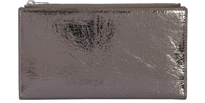 Laminated Leather Wallet - MM6 Maison Martin Margiela