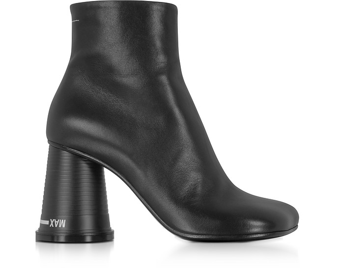 Black Nappa Leather Boots - MM6 Maison Martin Margiela