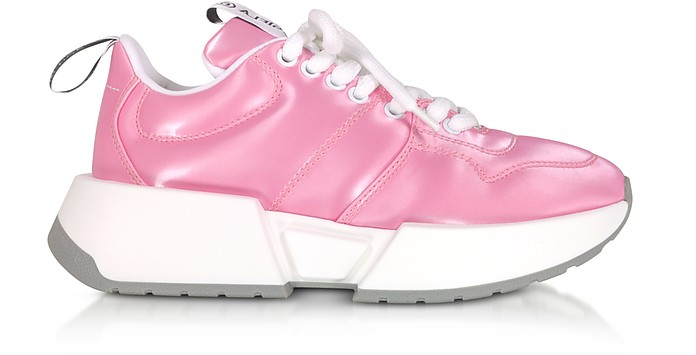 Fuchsia Padded Nylon Studio 2 Sneakers - MM6 Maison Martin Margiela