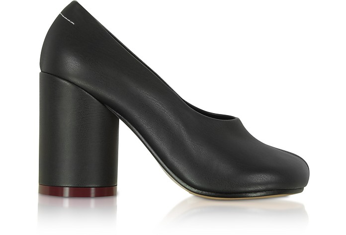 Black Leather Pumps - MM6 Maison Martin Margiela