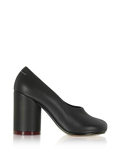Черные Кожаные Туфли-Лодочки - MM6 Maison Martin Margiela