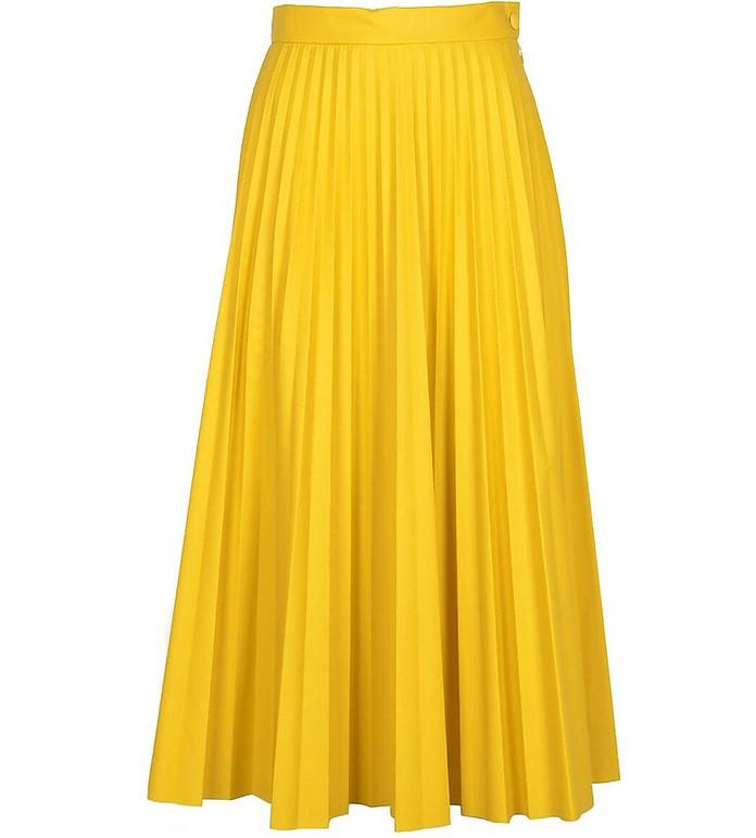Women's Yellow Skirt - MM6 Maison Martin Margiela