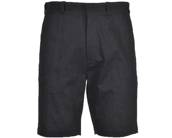 Men's Black Bermuda Shorts - Mauro Grifoni
