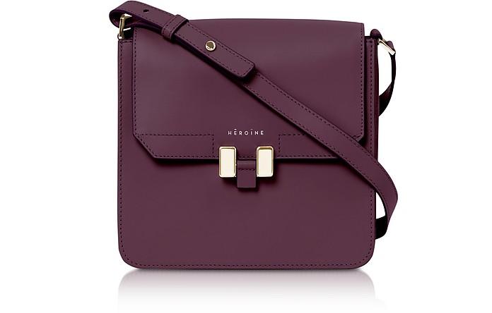 Berry Leather Tilda Tablet Mini Bag - Maison Heroine