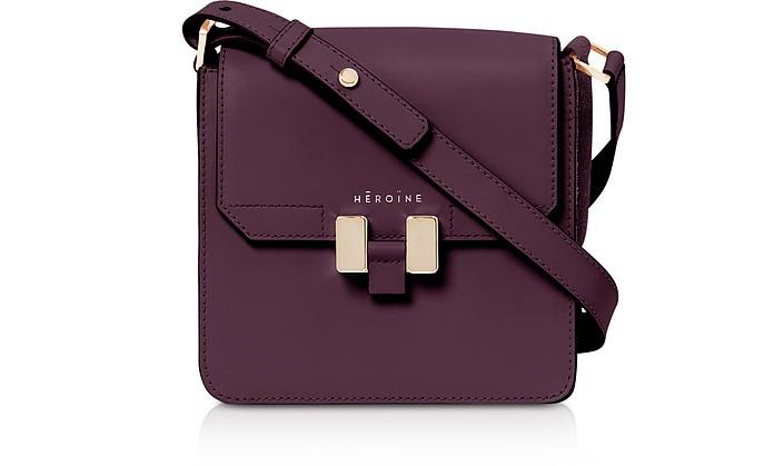 Berry Leather Tilda Phone Mini Bag - Maison Heroine
