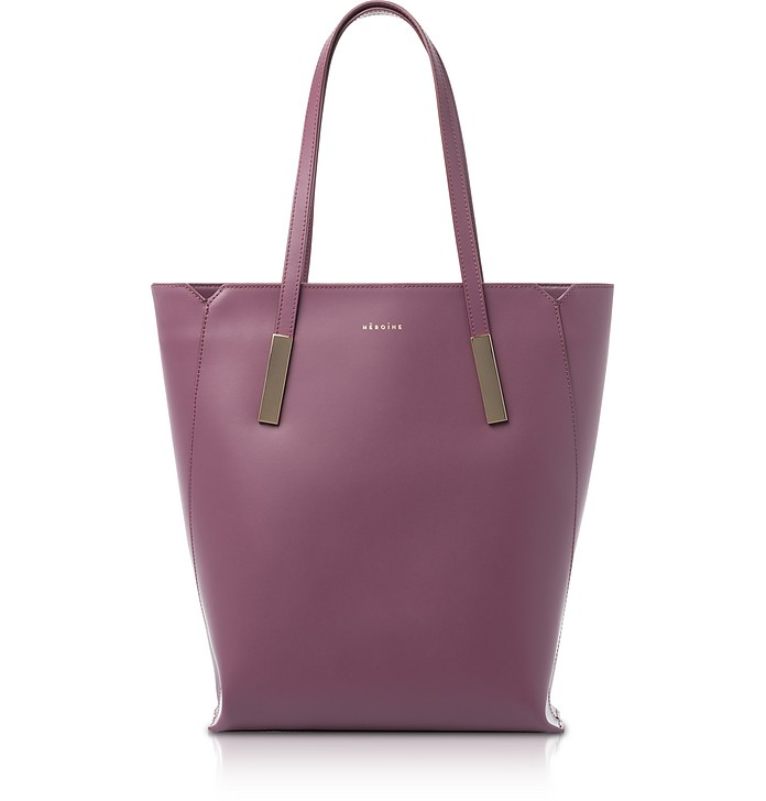 Berry Marta Leather Tote Bag - Maison Heroine