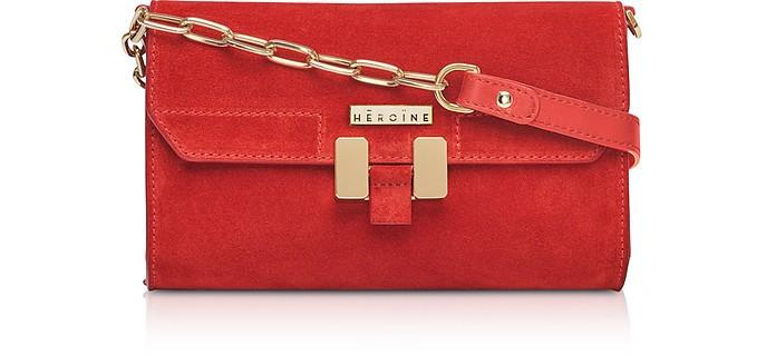 Brick Suede Carrie Belt Bag - Maison Heroine
