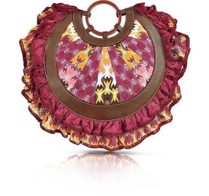 Round Fuchsia Handbag  - Missoni