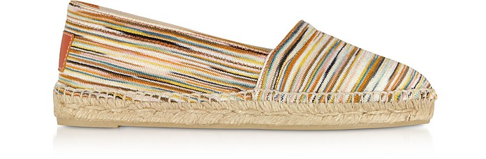 X Castañer - Kenda Multicolor Canvas Espadrillas - Missoni