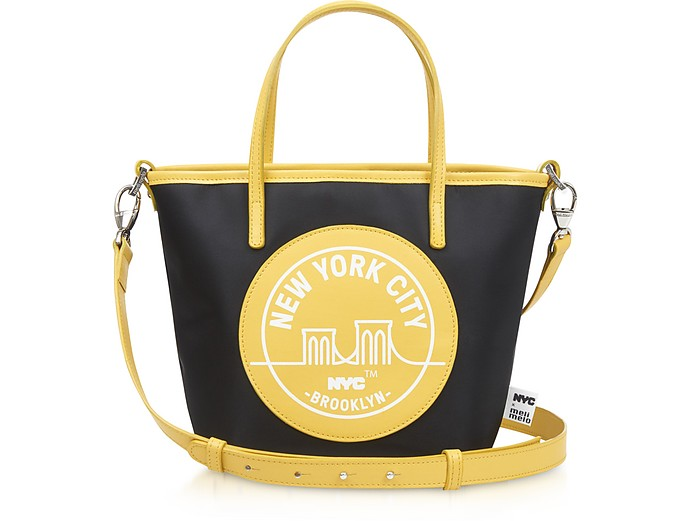 Brooklyn Yellow Paige Mini Tote Bag - Meli Melo