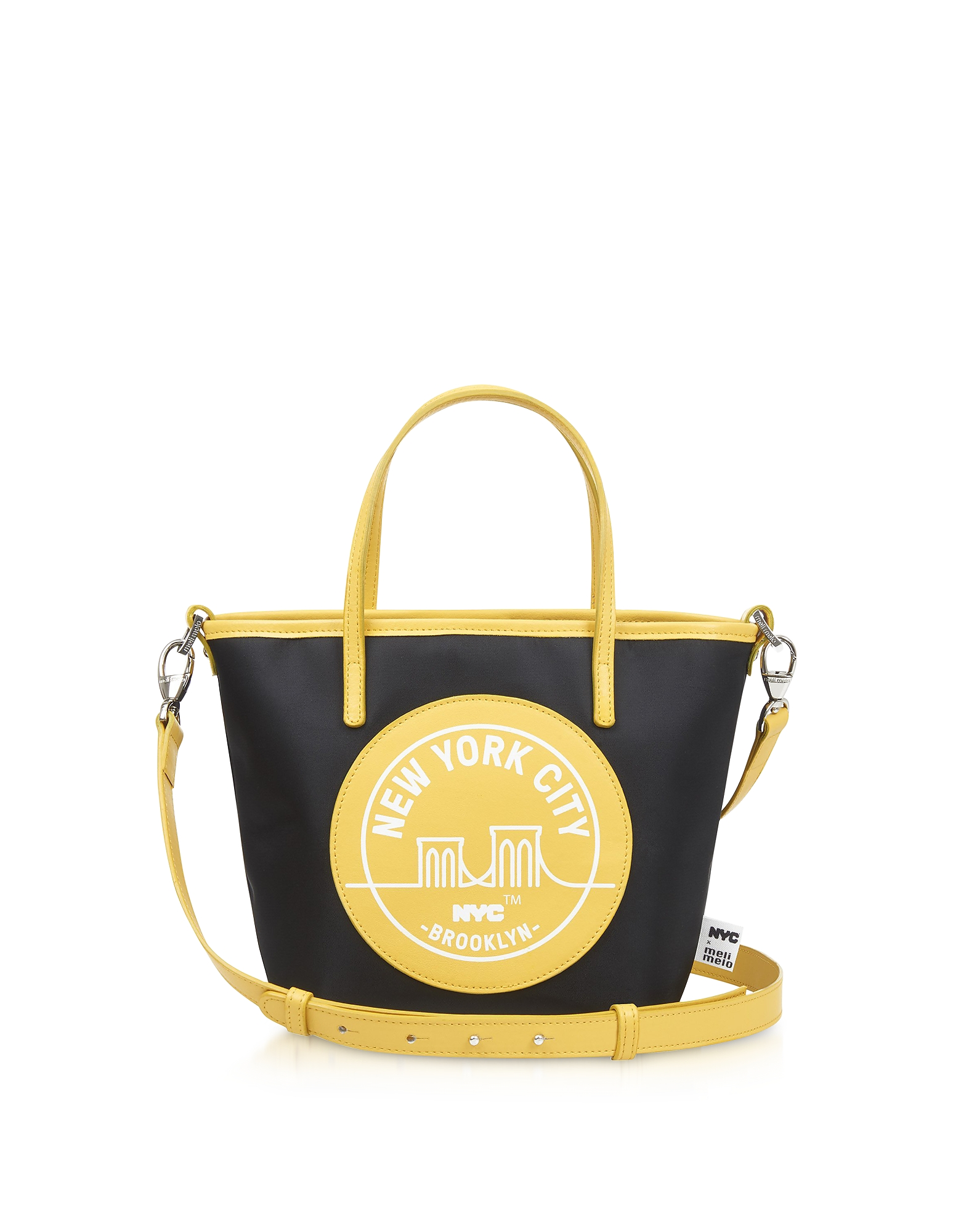 Meli Melo BROOKLYN YELLOW PAIGE MINI TOTE BAG