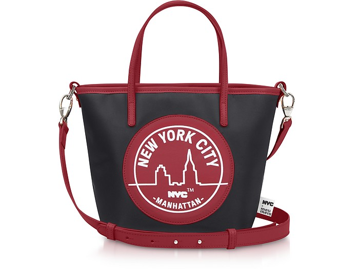Meli Melo RED PAIGE MINI MANHATTAN TOTE
