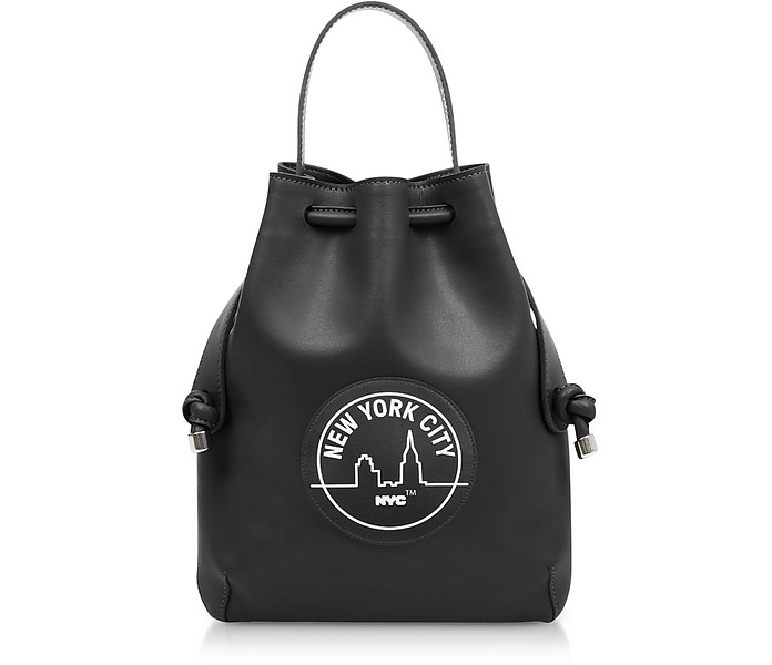 Black NYC Briony Mini Backpack - Meli Melo