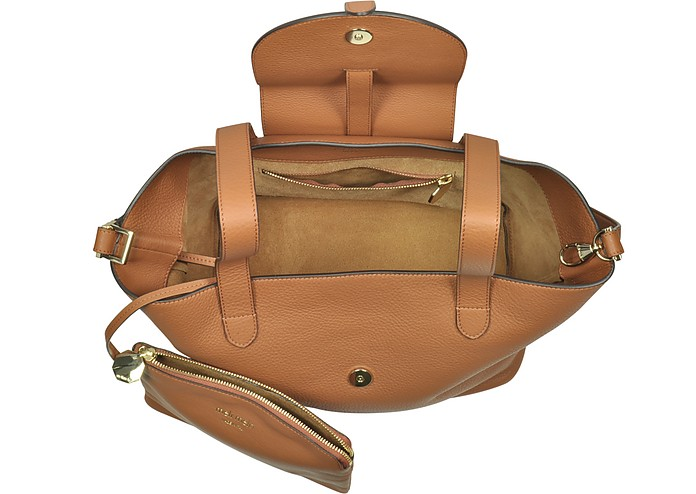 45d2bc18b70b Tan Coimbra Leather Thela Medium Tote Bag - Meli Melo.  525.60  876.00  Actual transaction amount