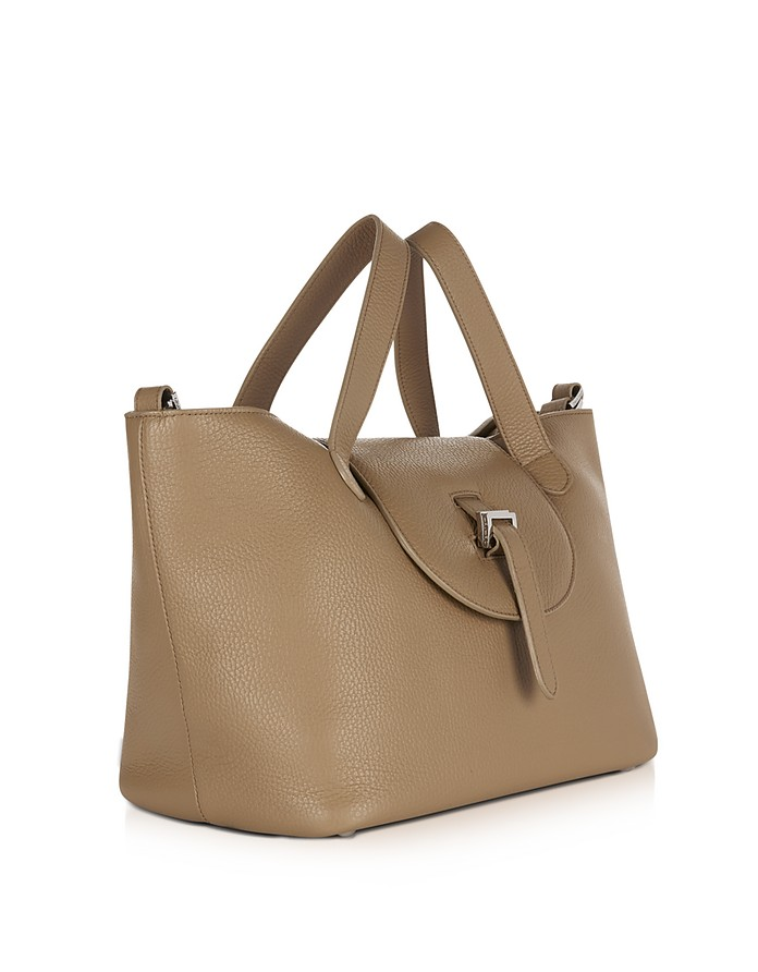 5ed099d9a01a Light Tan Leather Thela Medium Tote Bag - Meli Melo.  715.00 Actual  transaction amount