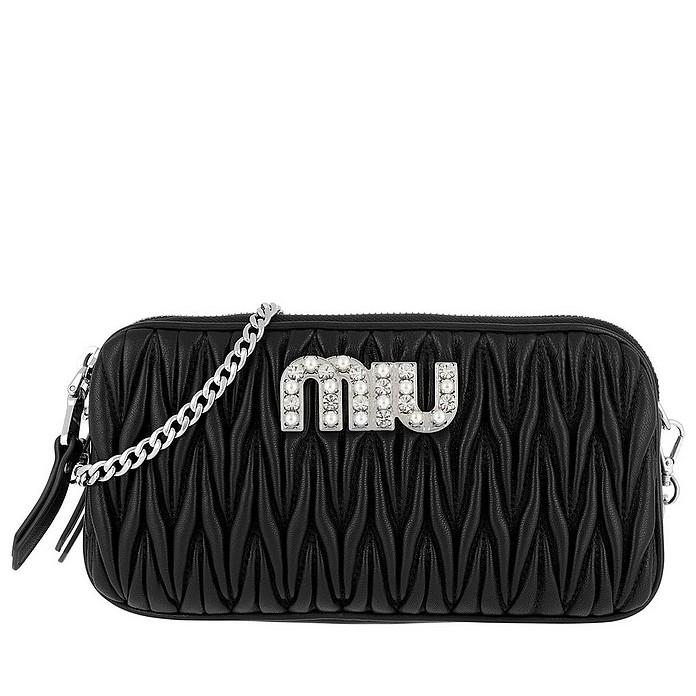Miu Miu Bag 5DH009 2BSQ Black - Miu Miu