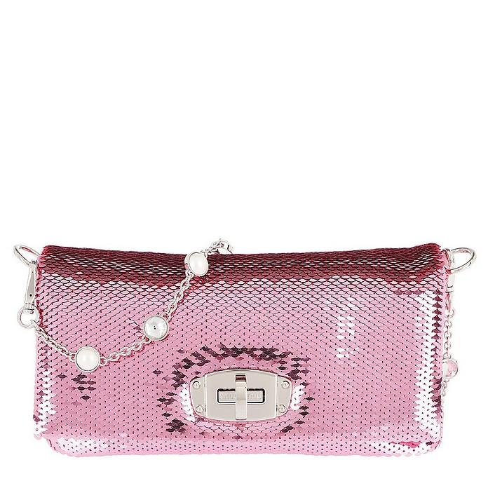 Sequin Crossbody Bag Rosa - Miu Miu