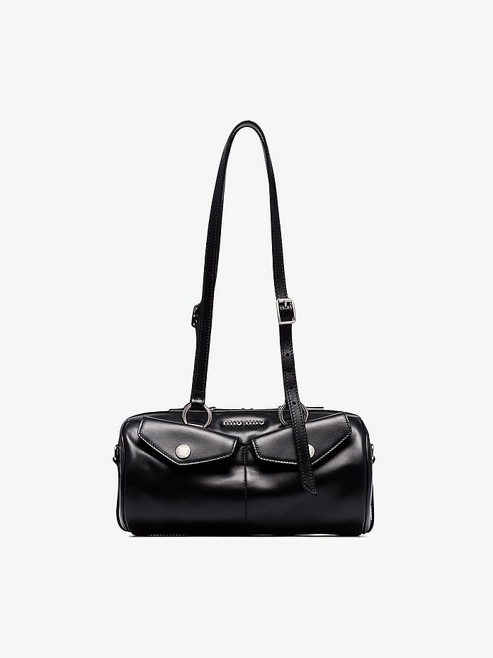 Black Bandoleer shoulder bag - Miu Miu