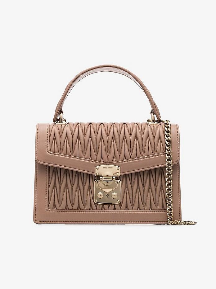 Miu Miu Accessories Miu Confidential matelassé leather bag