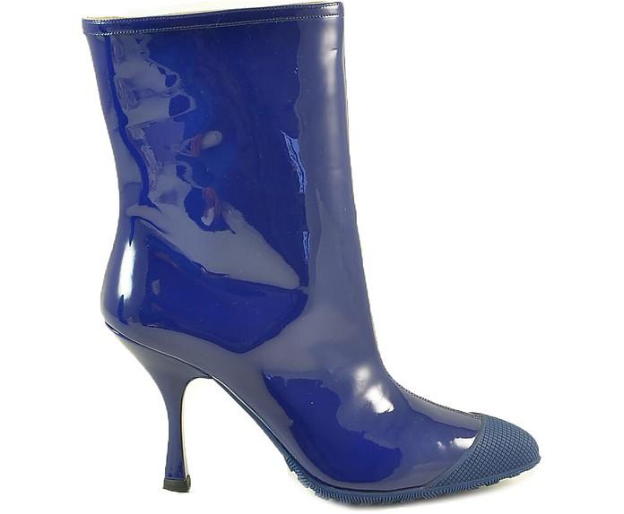 Women's Blue Boots - Miu Miu