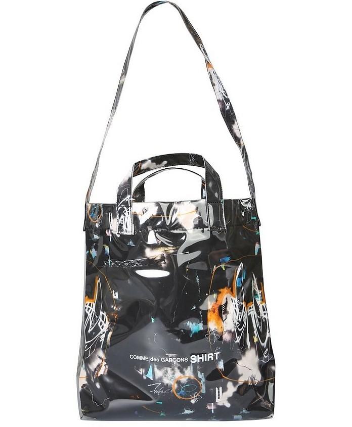 """Comme Des Garçons """"futura 2000 Shopping Bag"""" In Black"""