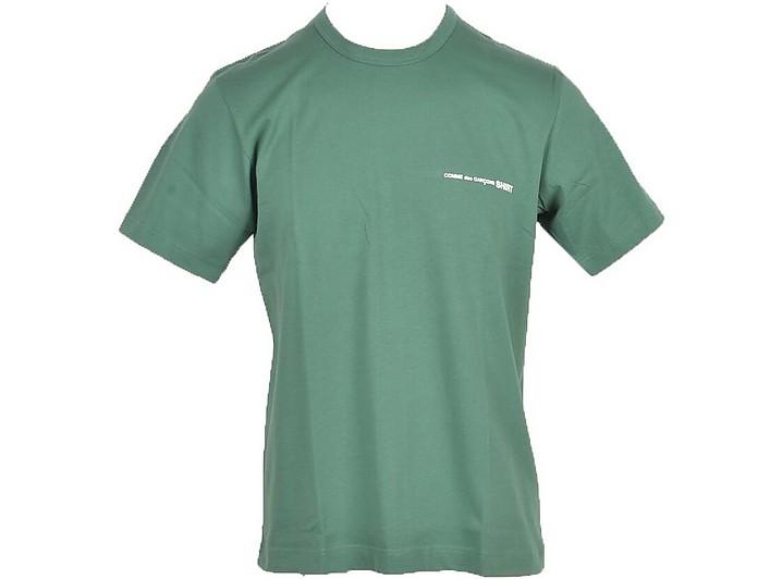 Men's Green T-Shirt - Comme des Garçons / コム デ ギャルソン