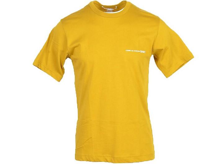 Men's Mustard T-Shirt - Comme des Garçons / コム デ ギャルソン