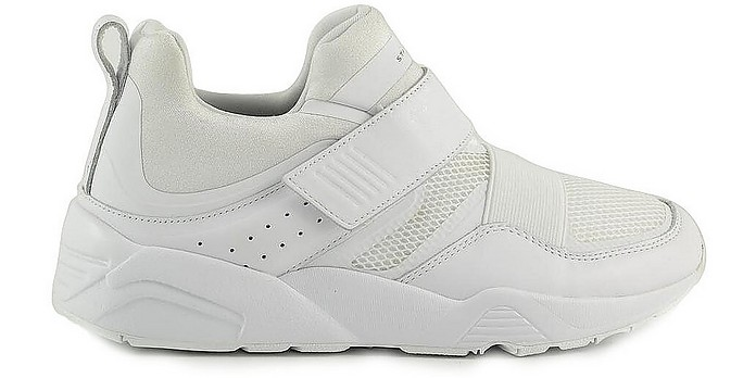 White Mesh Men's Mid-top Sneakers - Puma / プーマ
