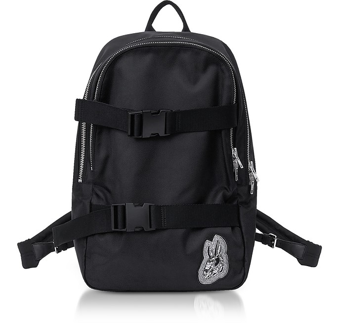 Black Nylon Bunny Backpack - McQ Alexander McQueen