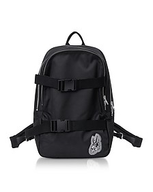 Black Nylon Bunny Backpack - Alexander McQueen