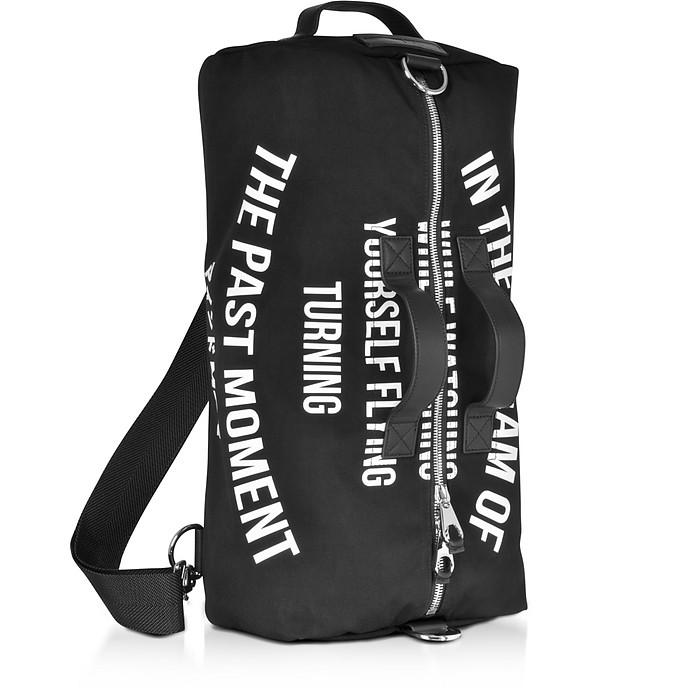 Black Canvas Gym Bag - McQ Alexander McQueen