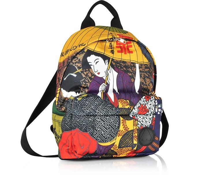 52c4c3b215a McQ Alexander McQueen Kimono Girl Nylon Backpack at FORZIERI UK
