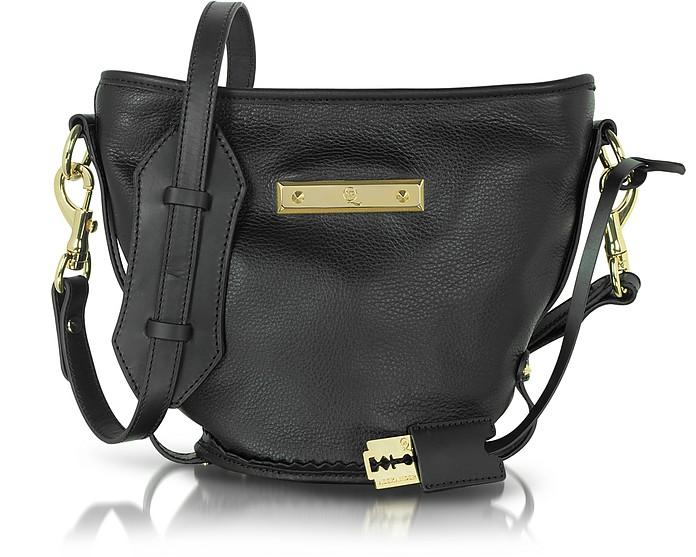 Genuine Leather Shoulder Bag - McQ Alexander McQueen