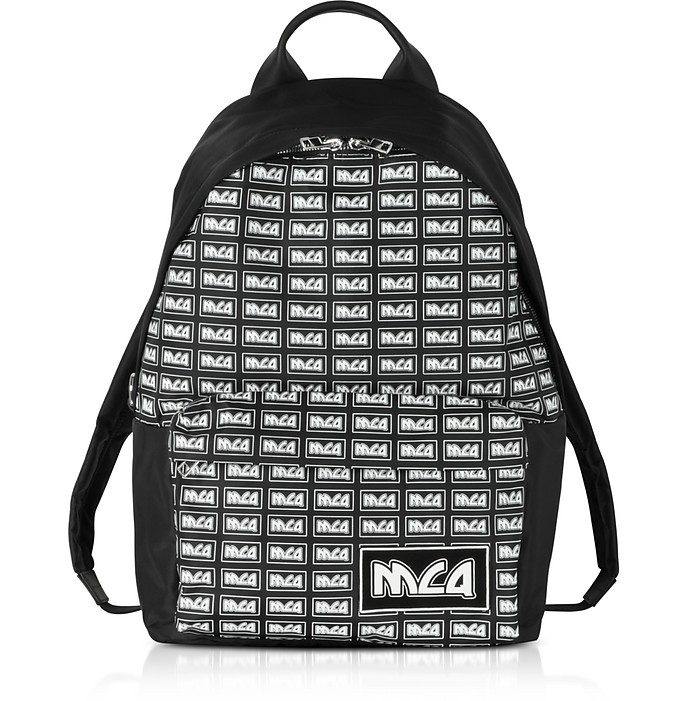 Black Signature Backpack - McQ Alexander McQueen