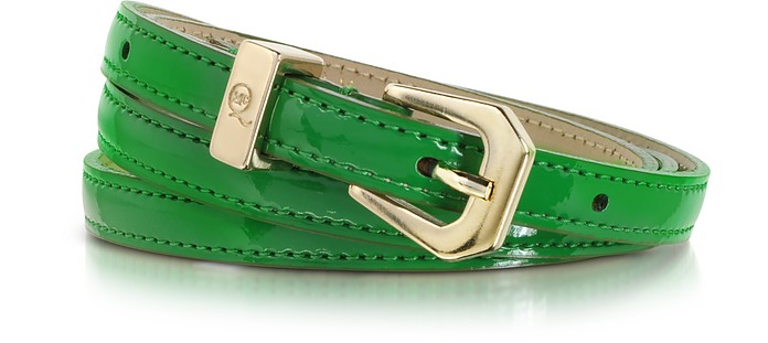 Eco Leather Skinny Belt - McQ Alexander McQueen