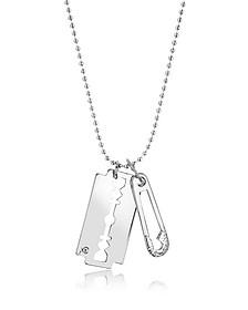 Razor Pendant Necklace