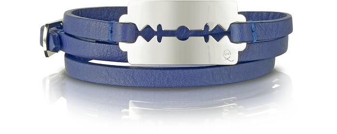 Triple Wrap Razor Bracelet  - McQ Alexander McQueen