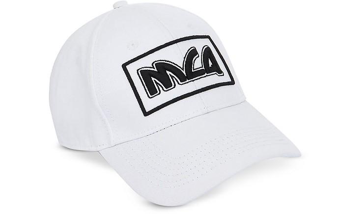 Metal Logo Cotton Baseball Cap - McQ Alexander McQueen