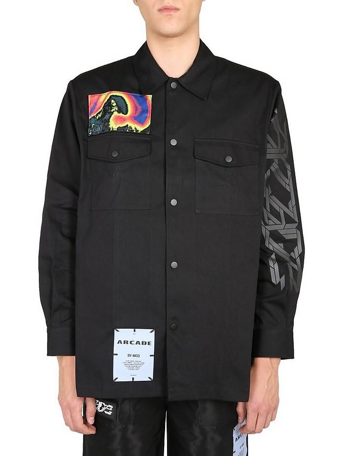 Oversize Fit Shirt - McQ Alexander McQueen