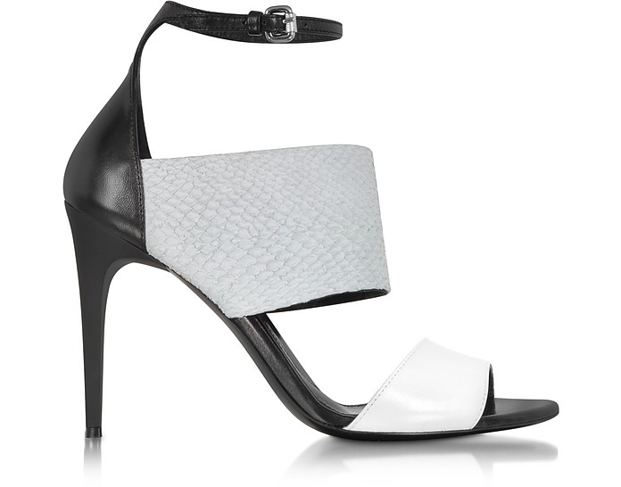 Lilly Off White Ankle Strap Sandal - McQ Alexander McQueen