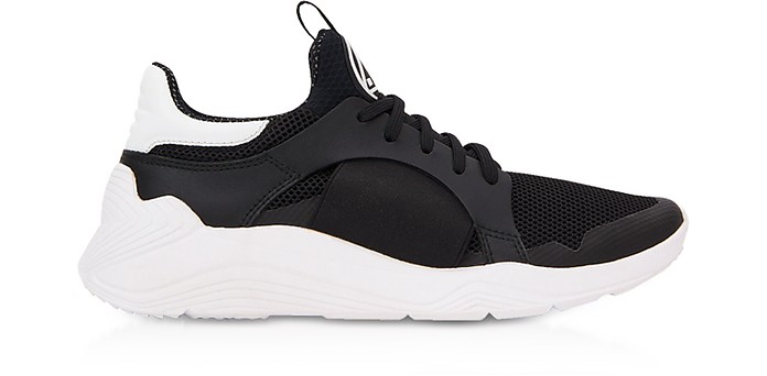 Black Gishiki Low Top Sneakers - McQ Alexander McQueen
