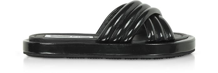 Black Venture Slide Sandals - McQ Alexander McQueen