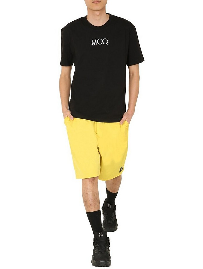 Bermuda With Coulisse - McQ Alexander McQueen