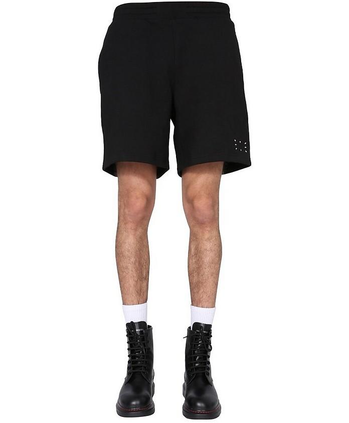 Cotton Sweatshirt Bermuda - McQ Alexander McQueen