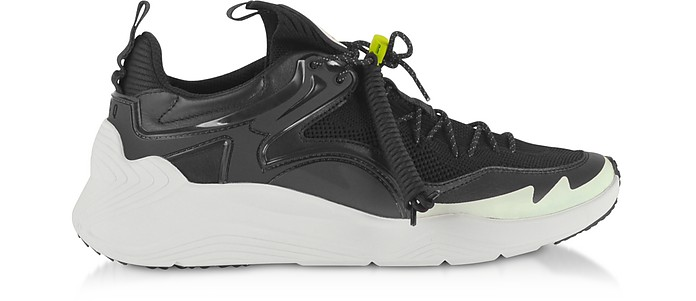 Ghishiki 2.0 Black Fabric Men's Sneakers - McQ Alexander McQueen