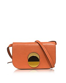 Chili Orange Leather Pois Shoulder Bag - Marni